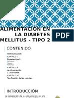 Alimentación en La Diabetes Mellitus - Tipo 2