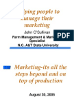 Marketing 4P's4C's