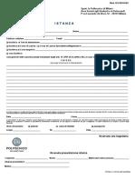 Modulo Di Istanza - Application ITA 01