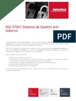 Presentacion Iso 37001 Sistema de Gestion Anti Soborno