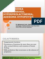 Amenore Galactorea, Hyperprolactinemia, Adenoma Hypophysis Dr M Yusuf SpOG