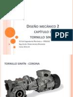 Diseño de transmisión tornillo sinfin