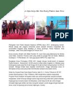 Dinas Pekerjaan Umum Cipta Karya Dan Tata Ruang Provinsi Jawa Timur Peduli Sampah