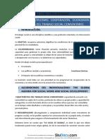 Resumen Trabajo Social Con Comunidades Capitulo 1 Altruismo Cooperacion Ciudadania Fundamentos Del Trabajo Social Comunitario