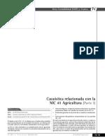 Casuística Relacionada Con La NIC 41 Agricultura (Parte I)