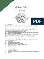 Tugas Makalah Kimia Fisika 1