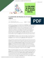 La Pirámide de Maslow en El Mundo Digital _ Felipe Vélez González _ Pulse _ LinkedIn