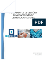 Fundamentos gestion desfibrilador