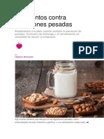 9 Alimentos Contra Digestiones Pesadas