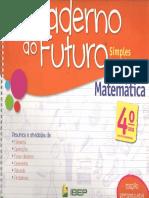 Caderno Do Futuro 4º Ano Matemática