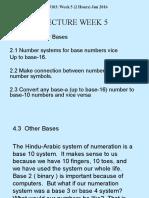 MTES3013 TAJUK2 Number Base