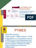 Las PYMEs y El VI Programa Marco