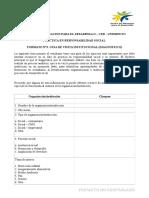 Formato N°3 Guia de visita Diagnostica