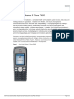 Cisco Unified Wireless IP Phone 7926G Data Sheet