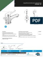 E182-B1-especificaciones lavamanos