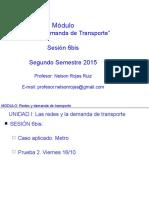 SESION 06bis Redes y Demanda de Transporte