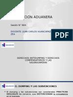 Legislacion Aduanera S04 Mecanismos de Defensa Comercial