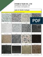 OTL Stone Product Catalog2017