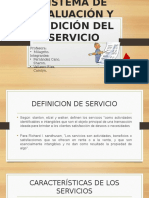 Evaluacion y Medicion Del Servicio - Cultura