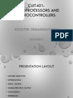 Register Organisation II