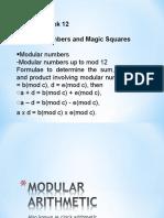 Modular Number