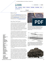 Coal_ Anthracite, Bituminous, Coke, Pictures, Formation, Uses