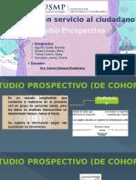 Prospectivo - Epidemiología