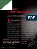Bosses Behaving Badly