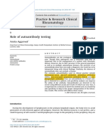 Role of Autoantibody Testing