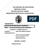 Proyecto Educativo Instituciona Unsaac