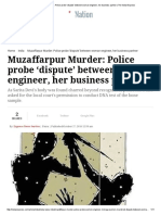 Muzaffarpur Murder_ Police Probe 'Dispute' Between Woman Engineer, Her Business Partner _ the Indian Express