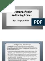 failing grades  final presentation  2