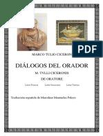 Dialogos del orador Ciceron