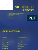 night shift report