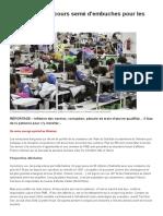 Vietnam Un Parcours Semé d'Embuches Pour Les PME Françaises