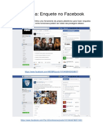 Enquetes Facebook