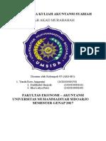 Jawaban soal buku Akuntansi Syariah Diindonesia