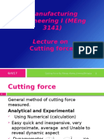 Cutting Force