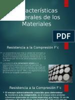 Características Generales de Los Materiales