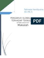 Pengaruh Globalisasi Terhadap Teknologi Komunikasi