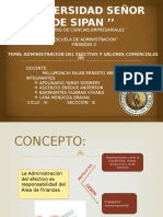 Administracion Del Efectivo y Valores Comerciales