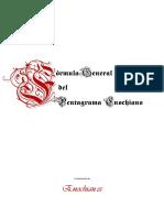 Formular General Del Pentagrama Enochiano