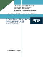 Informe  Toxicologia Quimica y Legal