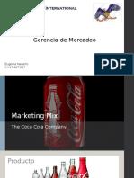 Eugenia Navarro - Marketing Mix - Coca Cola