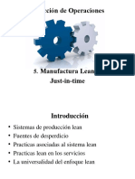 5. Lean Management y JIT