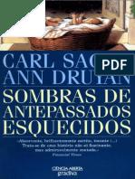 Sombras de Antepassados Esqueci - Carl Sagan