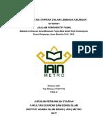 Implementasi Syirkah Dalam Lembaga Keungan Syariah