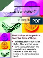g Foucault Author