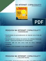 Apresentação Pesquisa Na Internet Copia e Cola