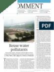 Reuse Water Pollutants_2015_Nature